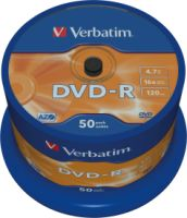 Verbatim DVD-R 4,7GB 16X 50er SP