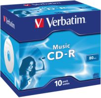 Verbatim CD-R 80Min 10er JC AUDIO