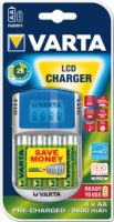 Varta Power Play LCD-Charger (4x Mignon 2.700 mAh)