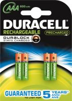 Duracell HR03 StayCharged Accu 800mAh 4er Blister