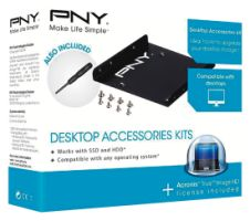 "PNY Desktop Upgrade Kit für 2,5"" SSD/HDD"