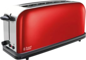 Russell Hobbs Colours Plus+ Flame Red Langschlitz-Toaster