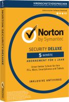 Symantec Norton Security 3.0 Deluxe 5User