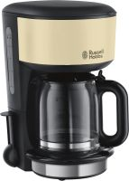 Russell Hobbs Colours Plus+ Classic Cream Glas-Kaffeemaschine