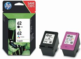 Hewlett Packard 62 HP Combo Pack