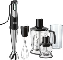 Braun Domestic Home MQ 746 limited edition + Burgerpresse
