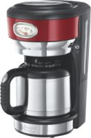 Russell Hobbs Retro Ribbon Red Thermo-Kaffeemaschine