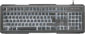 Trust Lito Backlit Multimedia Keyboard DE