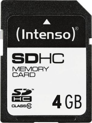 Intenso SD Card 4GB Class 10_0