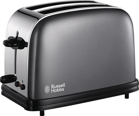 Russell Hobbs Colours Storm Grey Toaster_0