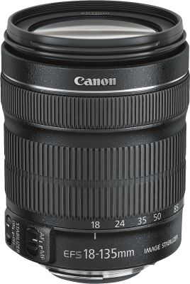 Canon LENS EF-S 18-135 IS STM + EW-73B +LC KIT_0