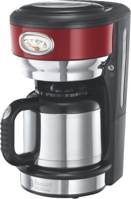 Russell Hobbs Retro Ribbon Red Thermo-Kaffeemaschine_0